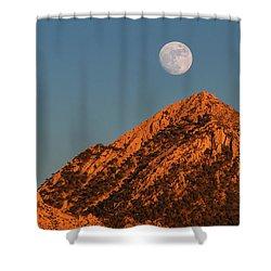 Lunar Sunset Shower Curtain