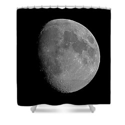 Lunarcy Over Cape Cod Canal Shower Curtain
