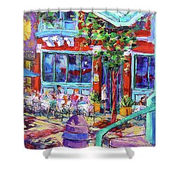 Lunch Alfresco Shower Curtain