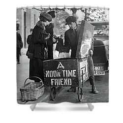 Lunch Cart In Washington D C Shower Curtain
