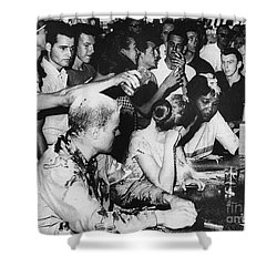 Lunch Counter Sit-in, 1963 Shower Curtain by Granger