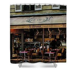 Lunch In Paris Shower Curtain