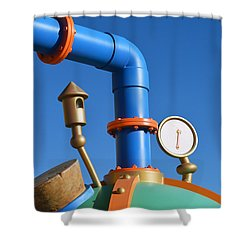 Lunchtime Shower Curtain