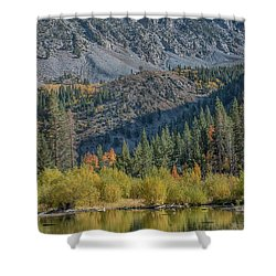 Lundy Canyon Shower Curtain