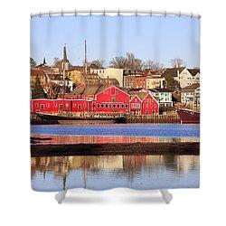 Lunenburg, Nova Scotia Shower Curtain