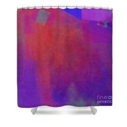 Meditation-lungta Windhorse Shower Curtain