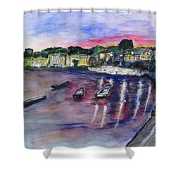 Luogo Mergellina, Napoli Shower Curtain by Clyde J Kell