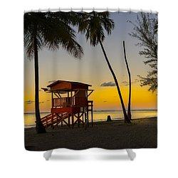 Luquillo Sunset  Shower Curtain