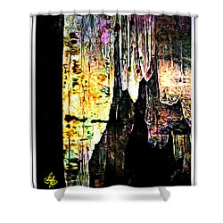 Luray Cavern Abstract 2 Shower Curtain