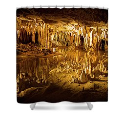 Luray Caverns Shower Curtain