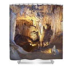 Luray Caverns Shower Curtain by Richard Bryce and Family