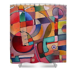 Lure Eye Expression Shower Curtain