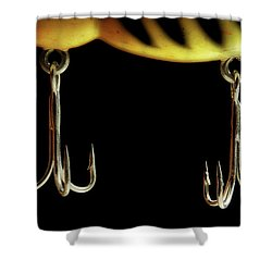 Shower Curtain featuring the photograph Lure by Mike Eingle