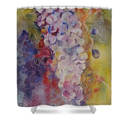 Luscious Grapes Shower Curtain