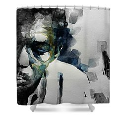 Lush Life  John Coltrane  Shower Curtain