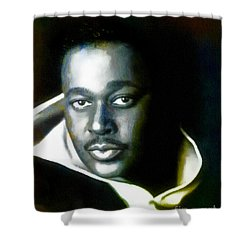 Luther Vandross - Singer  Shower Curtain
