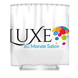 Luxe Logo 1 Shower Curtain
