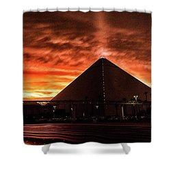 Luxor Las Vegas Shower Curtain