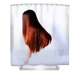 Luxurious Hair Shower Curtain