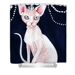 Luxurious Sphynx Shower Curtain