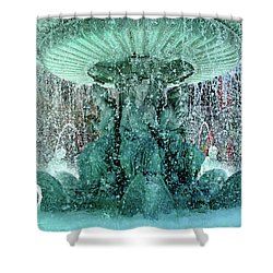 Lv Fountain Shower Curtain