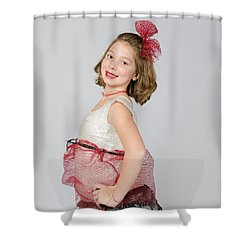 Lydia In Wraps Shower Curtain