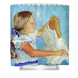 Lydia's 9th Birthday Shower Curtain
