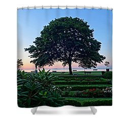 Lynch Park At Dawn Beverly Ma Shower Curtain
