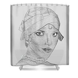 Lynn As Josephine Shower Curtain