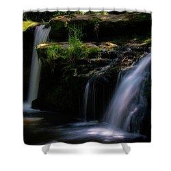 Lynn Mill Waterfalls Shower Curtain