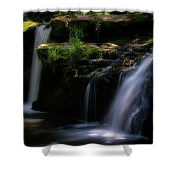 Lynn Mill Waterfalls Shower Curtain