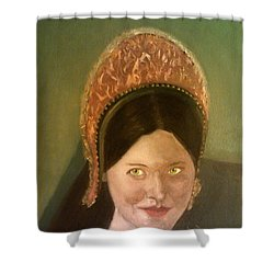 Lynne Frederick As Queen Katherine Howard Shower Curtain