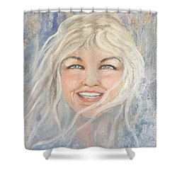 Lynnportrait Of A Young Woman  Shower Curtain