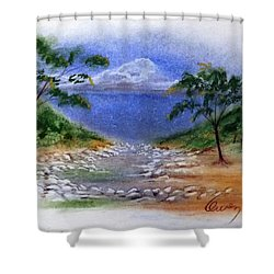 Lytle Creek Shower Curtain