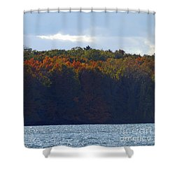 M Landscapes Fall Collection No. Lf50 Shower Curtain