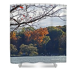 M Landscapes Fall Collection No. Lf51 Shower Curtain