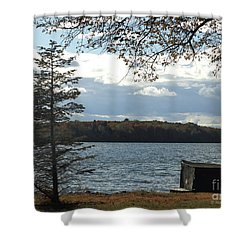 M Landscapes Fall Collection No. Lf52 Shower Curtain