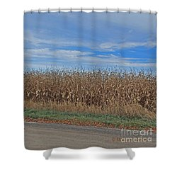 M Landscapes Fall Collection No. Lf58 Shower Curtain