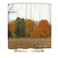 M Landscapes Fall Collection No. Lf60 Shower Curtain
