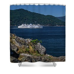 M/v Queen Of Cowichan Shower Curtain