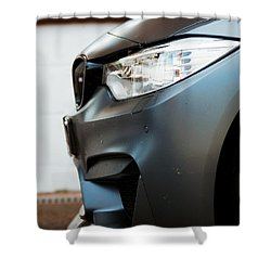 M4 Gts Profile Shower Curtain
