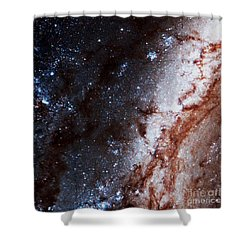 M51 Hubble Legacy Archive Shower Curtain