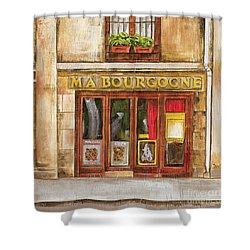 Ma Bourgogne Shower Curtain by Debbie DeWitt