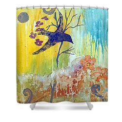 Ma Doh Bird Soars Shower Curtain