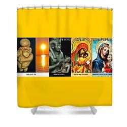 Ma Ra Evolution Shower Curtain