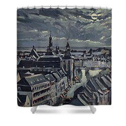 Maastricht By Moon Light Shower Curtain