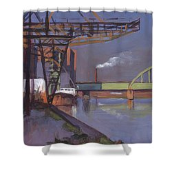 Maastricht Industry Shower Curtain