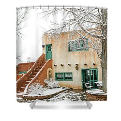 Shower Curtain featuring the photograph Mabel Dodge House 2 by Marilyn Hunt