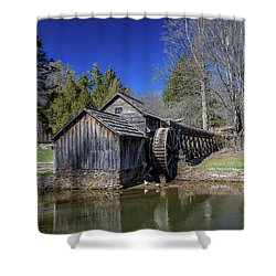 Mabry Mill Late Fall Shower Curtain