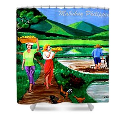 Mabuhay Philippines Shower Curtain